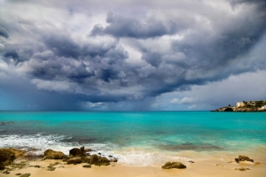 Hurricane Approaches Caribbean